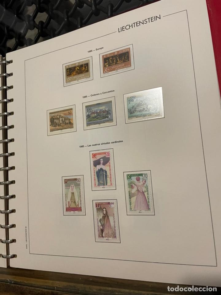 Sellos: Colección Casi Completa Sellos Liechtenstein 1969 a 1987 - Foto 42 - 248632895