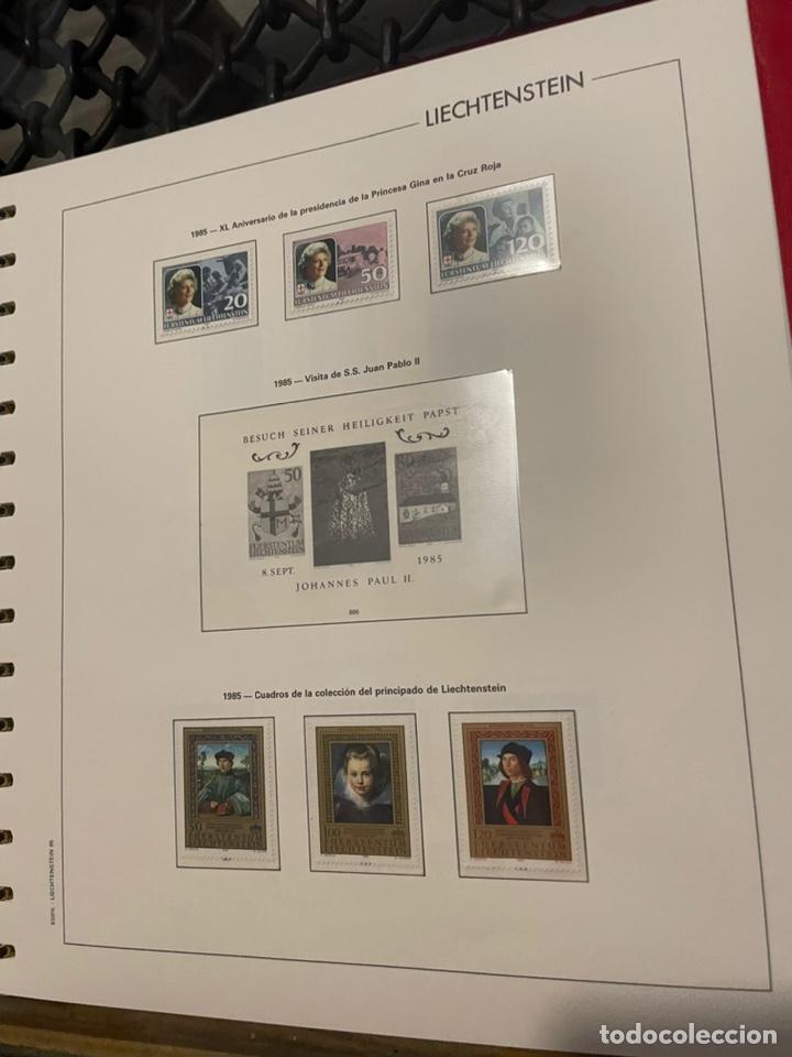 Sellos: Colección Casi Completa Sellos Liechtenstein 1969 a 1987 - Foto 43 - 248632895
