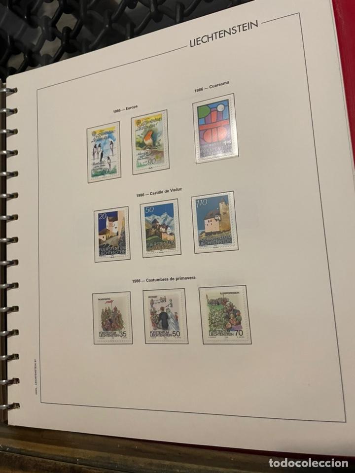 Sellos: Colección Casi Completa Sellos Liechtenstein 1969 a 1987 - Foto 45 - 248632895