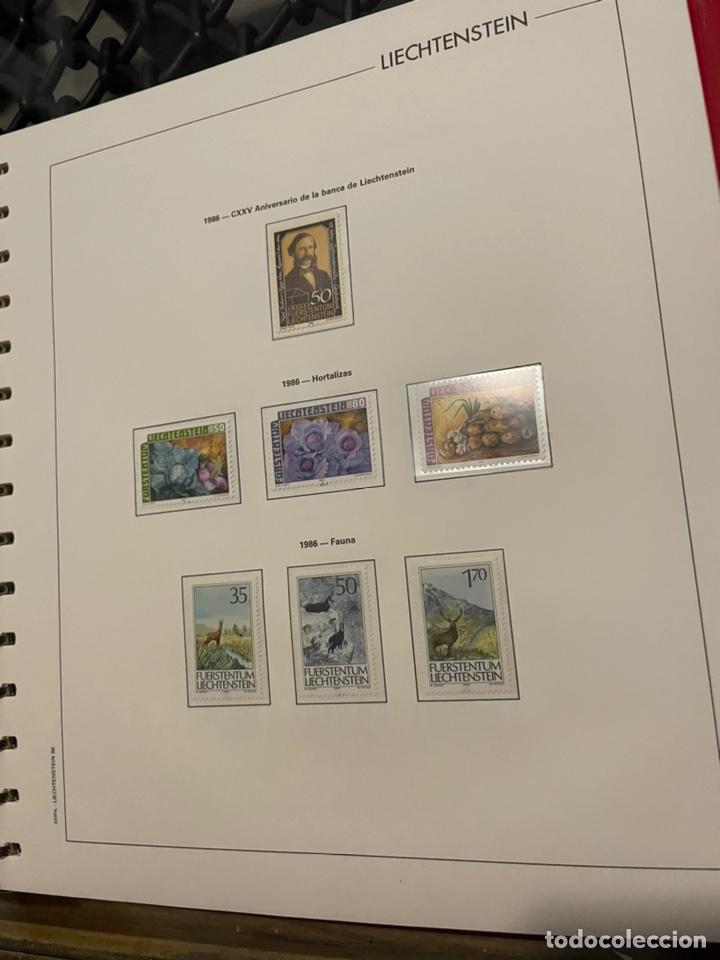 Sellos: Colección Casi Completa Sellos Liechtenstein 1969 a 1987 - Foto 46 - 248632895