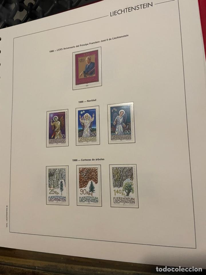 Sellos: Colección Casi Completa Sellos Liechtenstein 1969 a 1987 - Foto 47 - 248632895