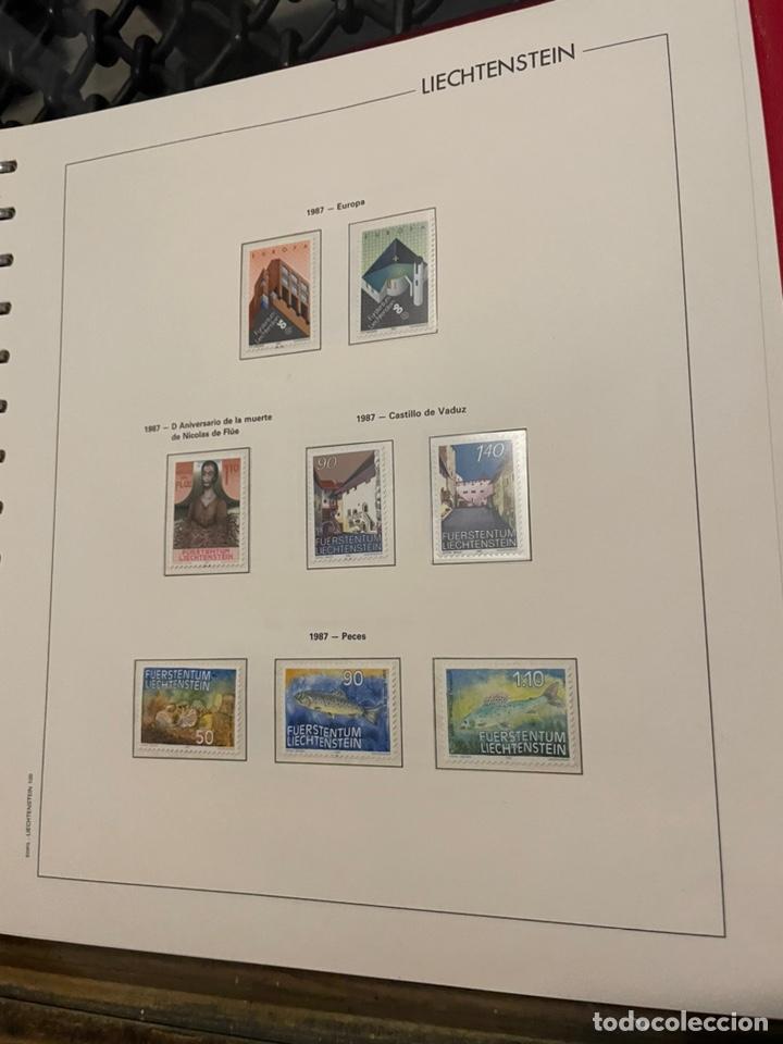Sellos: Colección Casi Completa Sellos Liechtenstein 1969 a 1987 - Foto 48 - 248632895