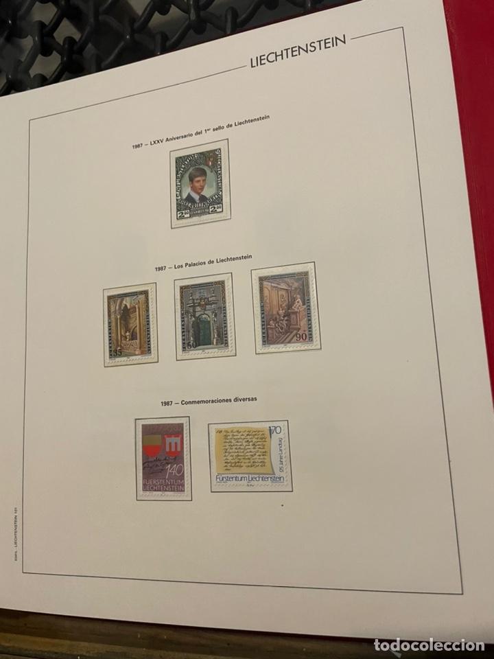 Sellos: Colección Casi Completa Sellos Liechtenstein 1969 a 1987 - Foto 49 - 248632895