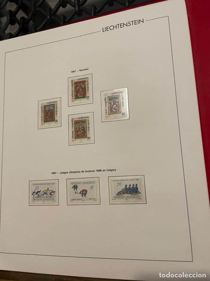Sellos: Colección Casi Completa Sellos Liechtenstein 1969 a 1987 - Foto 50 - 248632895