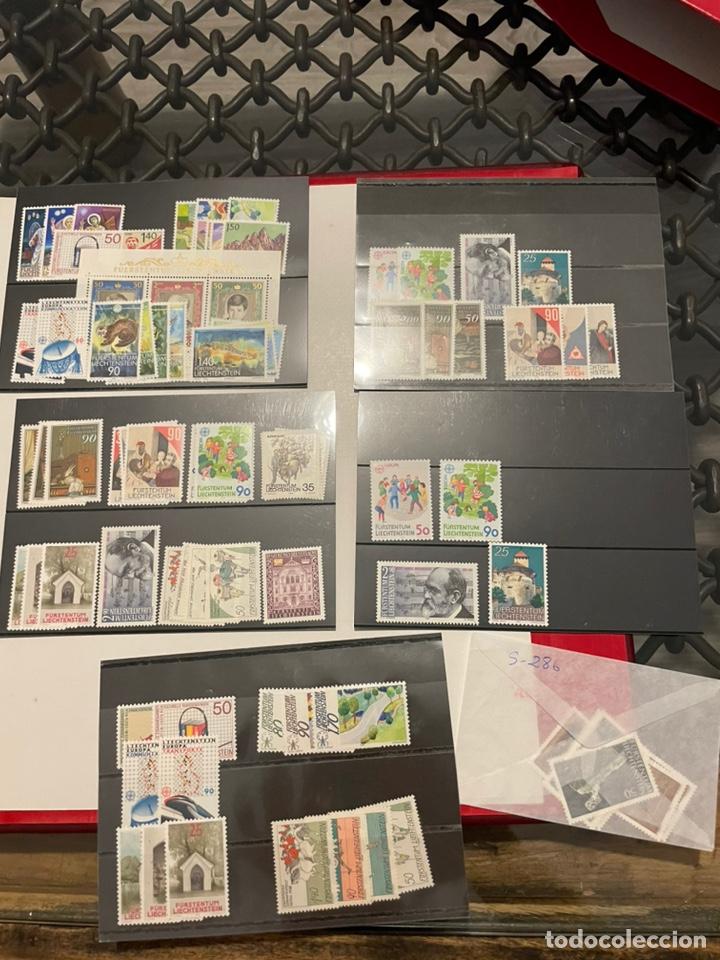 Sellos: Colección Casi Completa Sellos Liechtenstein 1969 a 1987 - Foto 56 - 248632895