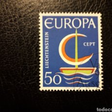 Sellos: LIECHTENSTEIN YVERT 417 SERIE COMPLETA USADA 1966. EUROPA CEPT. PEDIDO MÍNIMO 3€. Lote 253760510