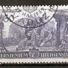 Sellos: LIECHTENSTEIN 1939. YT 155/157. Lote 253785880