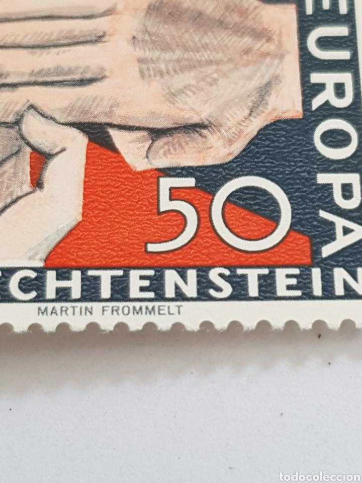 Sellos: Liechtenstein serie Europa 1962...4 unid. - Foto 2 - 254558590