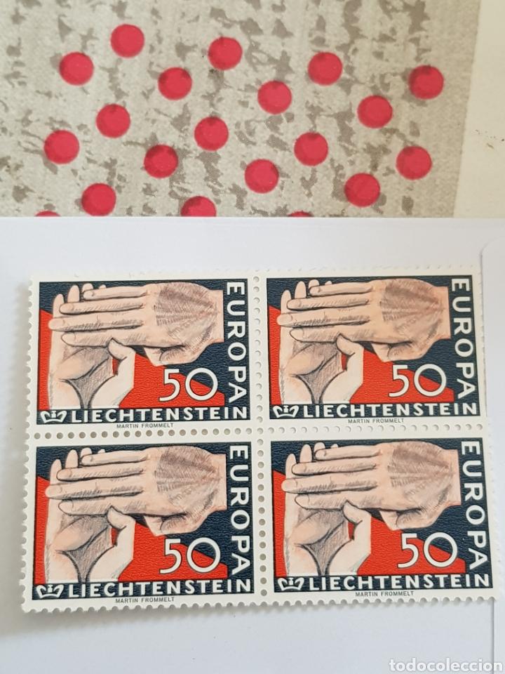 Sellos: Liechtenstein serie Europa 1962...4 unid. - Foto 3 - 254558590