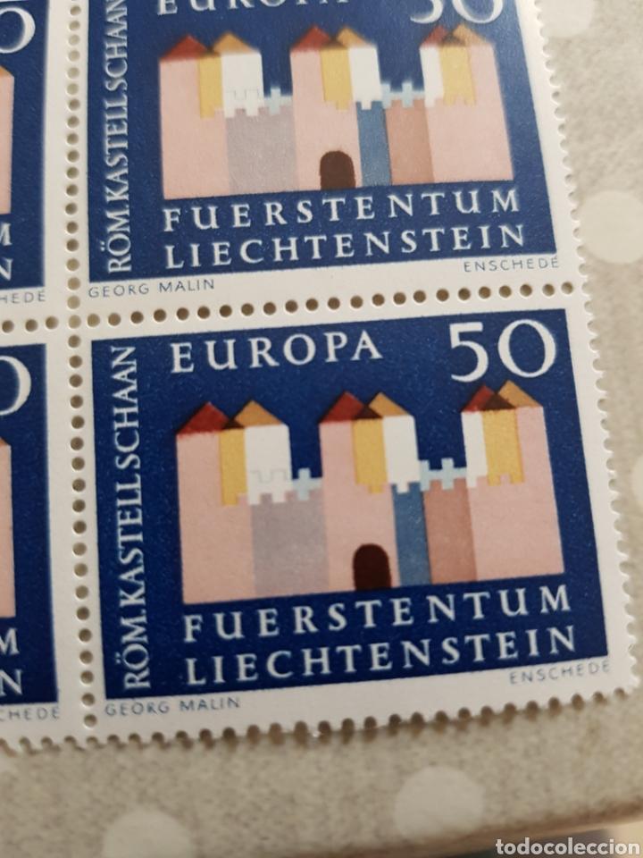 Sellos: Linchestein serie Europa 1964... 4 unid. - Foto 3 - 254559040