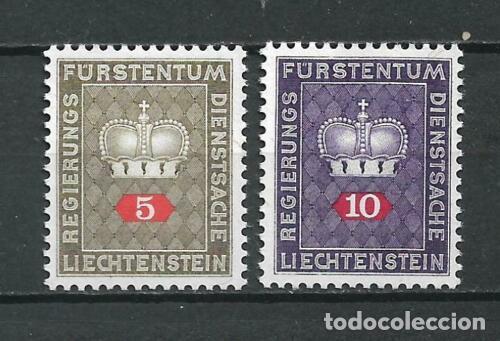LIECHTENSTEIN 1950 ** - 10/1 (Sellos - Extranjero - Europa - Liechtenstein)