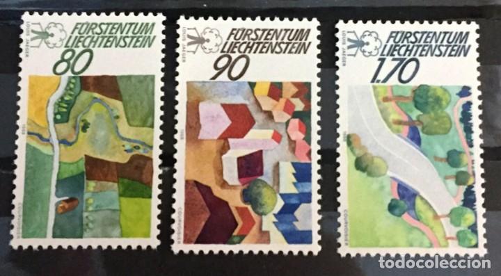 LIECHTENSTEIN, CAMPAÑA EUROPEA POR EL MUNDO RURAL (Sellos - Extranjero - Europa - Liechtenstein)
