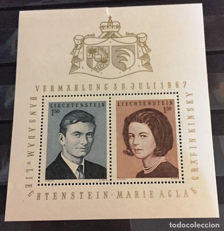 LIECHTENSTEIN, BODA PRINCIPESCA (Sellos - Extranjero - Europa - Liechtenstein)