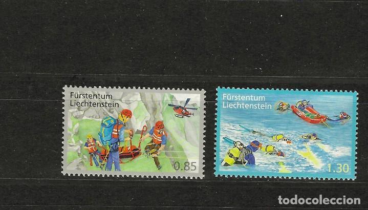 LIENCHESTEI Nº 1545 AL 1546 (**) (Sellos - Extranjero - Europa - Liechtenstein)