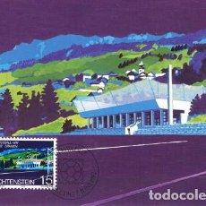 Sellos: [B0117] LIECHTENSTEIN 1982; MAXICARD CAMPEONATO MUNDIAL. ESPAÑA, 15 RP (M). Lote 262825915
