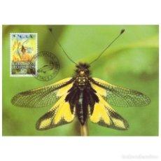 Sellos: [C0283] LIECHTENSTEIN 1989. MAXICARD WWF. PROTECCIÓN NATURALEZA, 50 RP (M). Lote 264741554