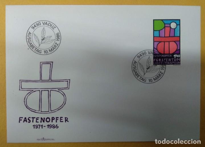 LIECHTENSTEIN 1986. FASTING SACRIFICE. MI:LI 895, (Sellos - Extranjero - Europa - Liechtenstein)