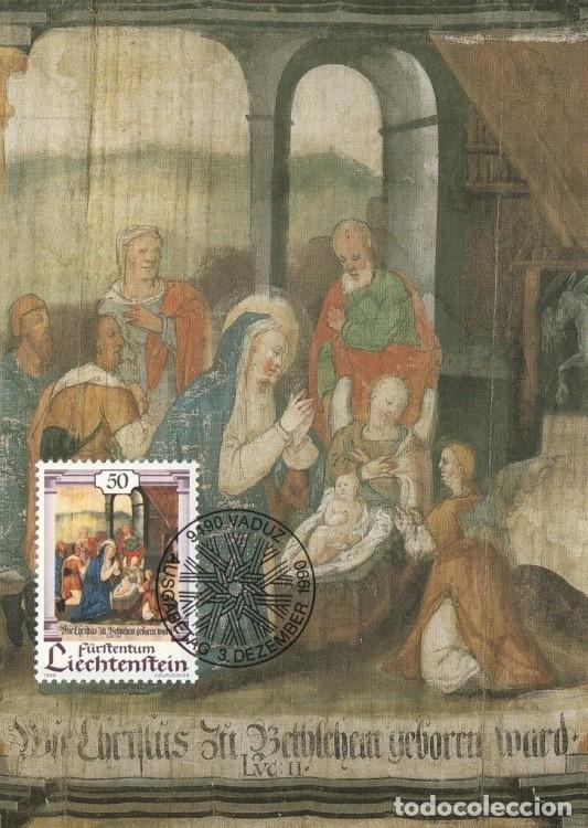 [C0311] LIECHTENSTEIN 1990. NAVIDAD. 50 RP (M) (Sellos - Extranjero - Europa - Liechtenstein)