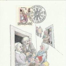 Sellos: [C0315] LIECHTENSTEIN 1990. CELEBRACIONES INVERNALES. 1,50 FR (M). Lote 268184364