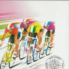 Sellos: [C0068.1] LIECHTENSTEIN 1992. MAXICARD JUEGOS OLÍMPICOS. BARCELONA. 70 RP (M). Lote 268884169