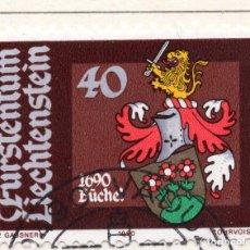 Sellos: LIECHTENSTEIN, 1980, STAMP , MICHEL ,743. Lote 276703498