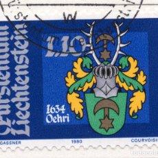 Sellos: LIECHTENSTEIN, 1980, STAMP , MICHEL ,746. Lote 276703773