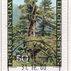 Sellos: LIECHTENSTEIN, 1980, STAMP , MICHEL ,758. Lote 276704398