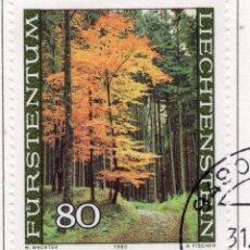 Sellos: LIECHTENSTEIN, 1980, STAMP , MICHEL ,759. Lote 276704438