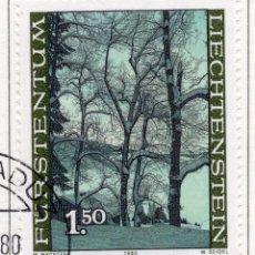 Sellos: LIECHTENSTEIN, 1980, STAMP , MICHEL ,760. Lote 276704493