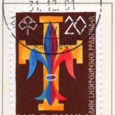 Sellos: LIECHTENSTEIN, 1981, STAMP , MICHEL ,773. Lote 276705348