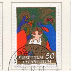 Sellos: LIECHTENSTEIN, 1981, STAMP , MICHEL ,788-790. Lote 276706158