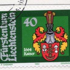 Sellos: LIECHTENSTEIN, 1982, STAMP , MICHEL ,793. Lote 276709738