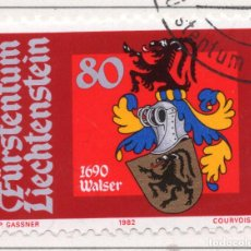 Sellos: LIECHTENSTEIN, 1982, STAMP , MICHEL ,795. Lote 276709923