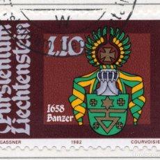 Sellos: LIECHTENSTEIN, 1982, STAMP , MICHEL ,796. Lote 276709993