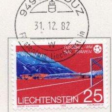 Sellos: LIECHTENSTEIN, 1982, STAMP , MICHEL ,799-801. Lote 276710188