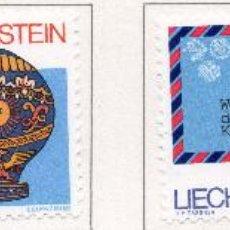Sellos: LIECHTENSTEIN, 1983, STAMP , MICHEL ,824-827. Lote 276712913