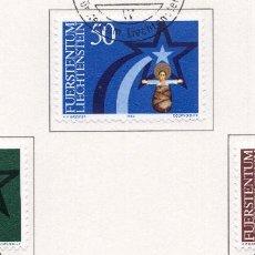 Sellos: LIECHTENSTEIN, 1983, STAMP , MICHEL ,831-833. Lote 276713253