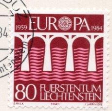 Sellos: LIECHTENSTEIN, 1984, STAMP , MICHEL ,838. Lote 276713983