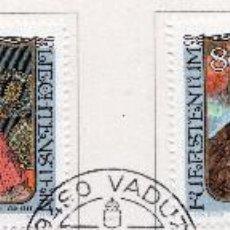 Sellos: LIECHTENSTEIN, 1984, STAMP , MICHEL ,839-842. Lote 276714093