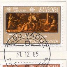Sellos: LIECHTENSTEIN, 1985, STAMP , MICHEL ,866-867. Lote 276741118