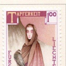 Sellos: LIECHTENSTEIN, 1985, STAMP , MICHEL ,874. Lote 276741343