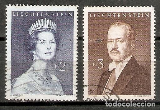 LIECHTENSTEIN 1959. YT 349B-C (Sellos - Extranjero - Europa - Liechtenstein)