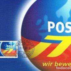 Sellos: [C0408] LIECHTENSTEIN 2003, MAXICARD EUROPA (N). Lote 277644508