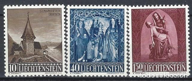 LIECHTENSTEIN 1957 - NAVIDAD, S.COMPLETA - MNH** (Sellos - Extranjero - Europa - Liechtenstein)