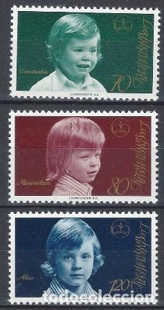 LIECHTENSTEIN 1975 - PRÍNCIPES, S.COMPLETA - MNH** (Sellos - Extranjero - Europa - Liechtenstein)