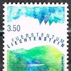 Sellos: LIECHTENSTEIN IVERT Nº 1048, PAISAJE EUROPEO DEL AÑO, LOS ALPES, NUEVO **+. Lote 278564308