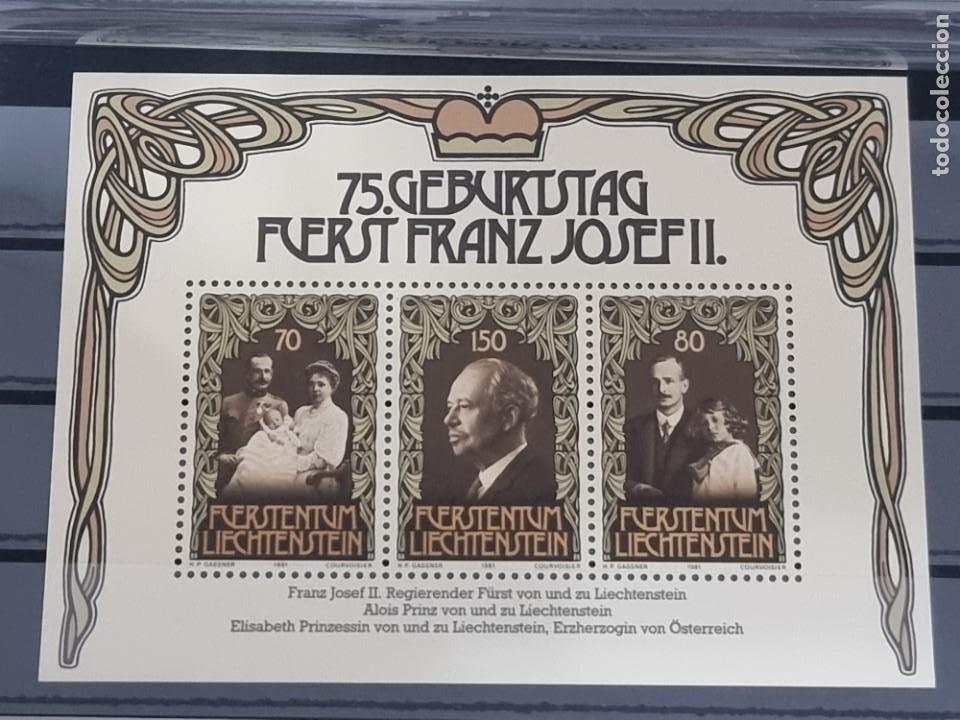 SELLO LIECHTENSTEIN 1981 NUEVO (Sellos - Extranjero - Europa - Liechtenstein)