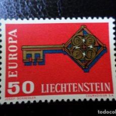 Sellos: *LIECHTENSTEIN,1968, EUROPA, YVERT 446. Lote 288072333