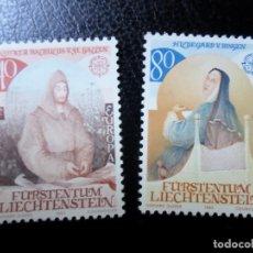 Sellos: *LIECHTENSTEIN,1983, EUROPA, YVERT 757/8. Lote 288074013