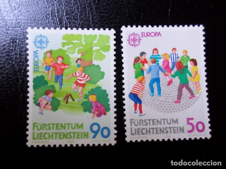 *LIECHTENSTEIN,1989, EUROPA, JUEGOS INFANTILES, YVERT 901/2 (Sellos - Extranjero - Europa - Liechtenstein)